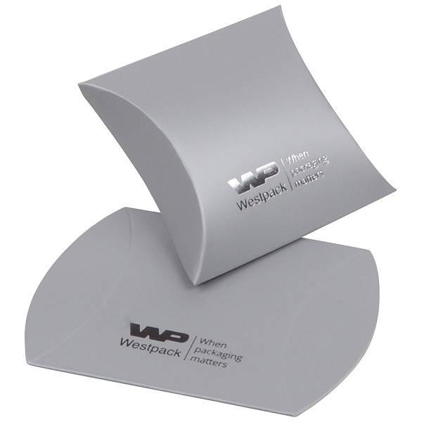 Plano Fix gaveæske til ring / ørestikker Mat sølv karton 40 x 54 x 21