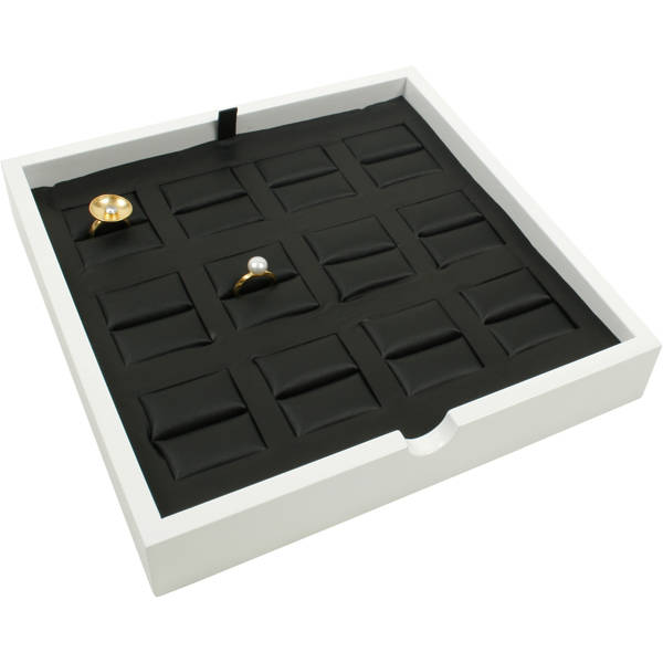 Tray 12x Ring, luxury