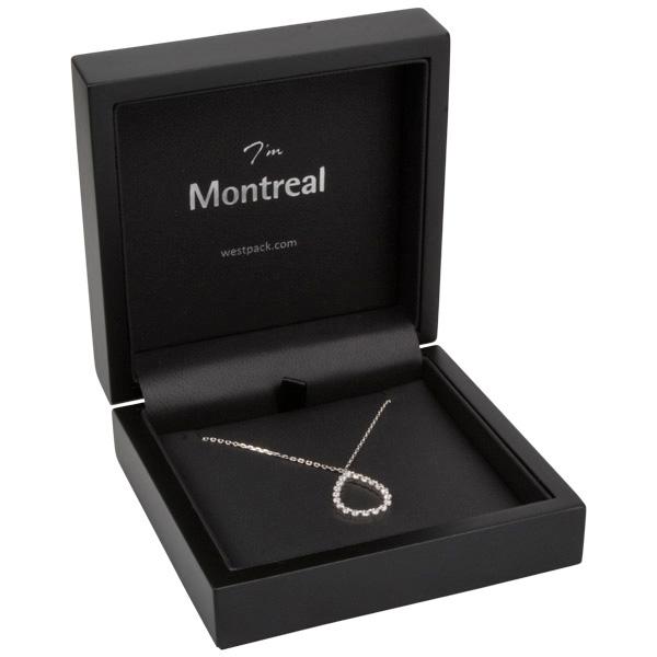 Montreal opakowania na łańcuszki z zawieszką
