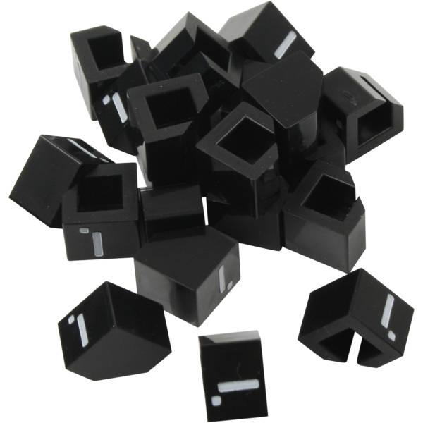 20 chiffres identiques emboîtables (Noir)