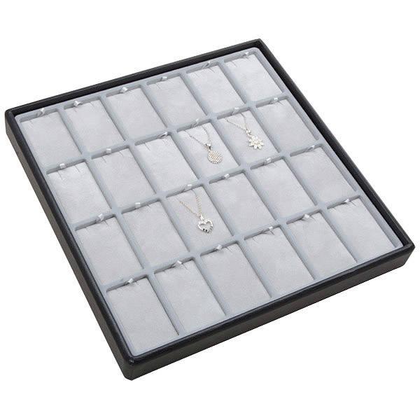 Medium tray for 24x jewellery set, horisontal