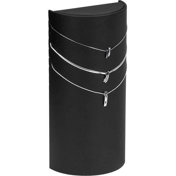 Présentoir collier - Colonne, 8 colliers/chaînes