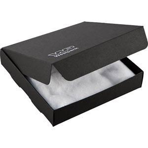 Plano 1000 vouwbaar cadeaudoosje, klein bord Mat zwart karton 150 x 150 x 30