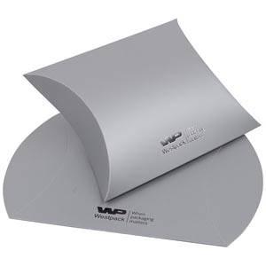 Plano Fix gaveæske til halskæde/ armbånd/ armring Mat sølv karton 100 x 110 x 40