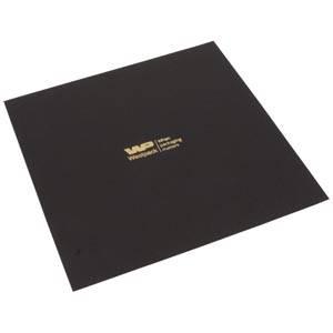 Cartouche voor bedrukking in deksel- groot collier Mat zwart karton 165 x 165 0 018 014 / 0 027 014