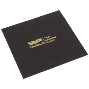 Cartouche vooor bedrukking in deksel - horloge Mat zwart karton 88 x 88 0 018 071 / 0 027 071
