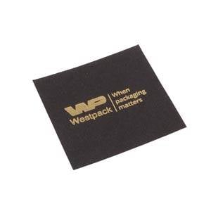 Lid Pad for Logo Print, XL Ring Matt Black Cardboard 56.5 x 56.5