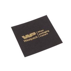 Lid Pad for Logo Print, XL Ring Matt Black Cardboard 56.5 x 56.5