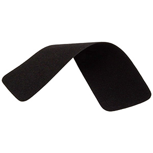 Cover Cloth for Ring Box Black Velours 153 x 43 0018000 / 0018001 / 0027000 /