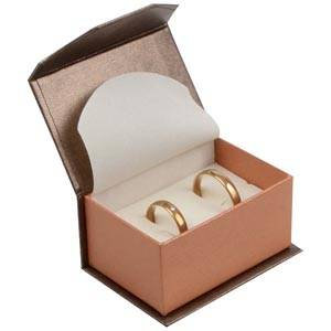 Milano Box for Wedding Rings / Cufflinks