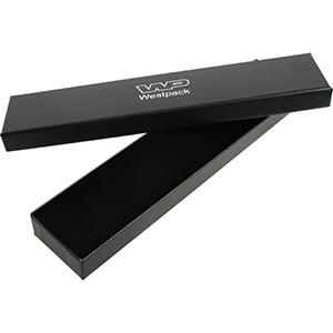 Santiago sieradendoosje voor armband Zwart karton/ Zwart foam 225 x 50 x 22 (217 x 44 x 17 mm)