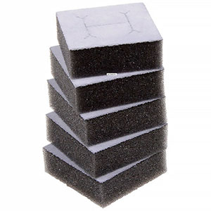 Additional foam insert for ring box Grey 45 x 45 x 15 0 027 000 / 0 018 000