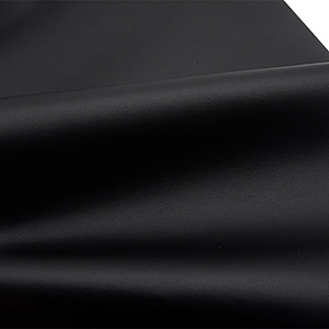 Nappa leatherette, per length metre Black 137 x 1