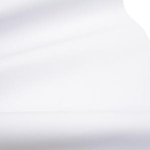 Tissu similicuir au mètre (Nappa) Blanc 137 x 1