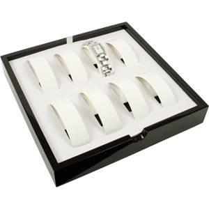 Plateau 8 montres/bracelets et ronds ressort, P.M.