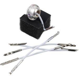 50x Attaches élastiques pour pendentifs / perles