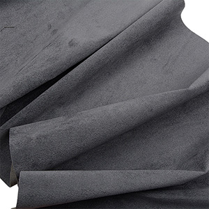 Pigstof Mørkegrå 140 x 1