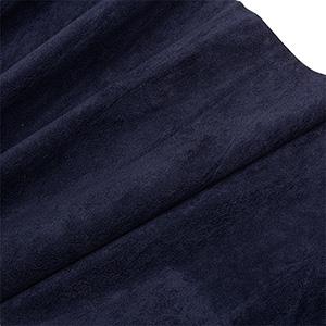 Velour fabric, per linear metre Dark Blue 140 x 1
