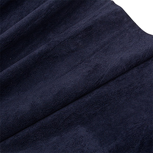 Velour fabric, per linear metre Dark Blue 140 x 1