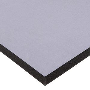 Mousse avec tissu velours de 10 mm