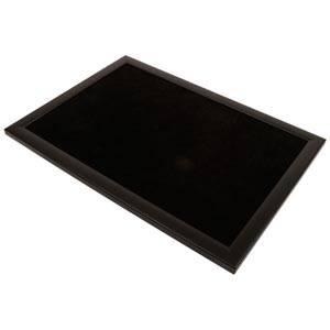 Presentation Tray Black frame/Black Velour 390 x 270