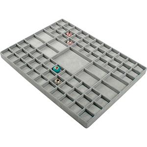 Einsatz für kleines Tablett: 75x Universal/Charms