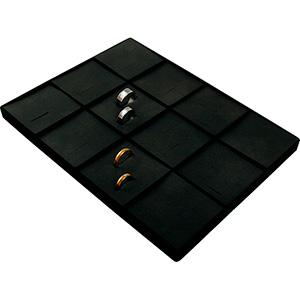 Einsatz für kleines Tablett: 12x Trauringe