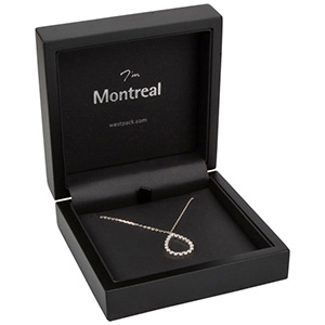 Montreal smyckesask till Halskedja/Hänge