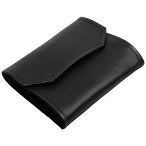 Jewellery purse, velour/leatherette