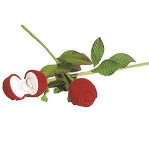 Baltimore Rose-shaped Box for Ring