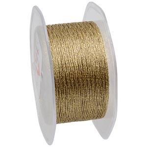 Net ribbon Gold  35 mm x 10 m