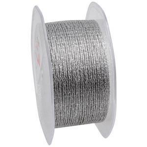Net ribbon Silver  35 mm x 10 m