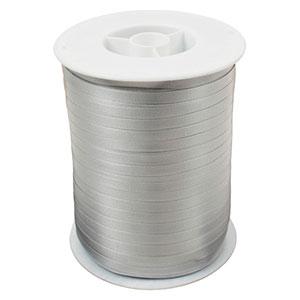 Plain ribbon, narrow Silver  5 mm x 500 m