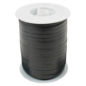 Bolduc ruban standard satiné, étroite Gris foncé  5 mm x 500 m