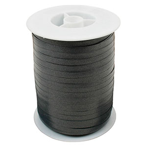 Plain ribbon, narrow Dark grey  5 mm x 500 m