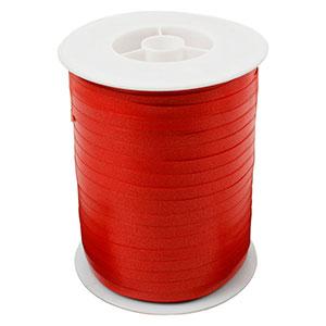 Plain ribbon, narrow Red  5 mm x 500 m