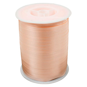 Bolduc ruban standard satiné, étroite Beige  5 mm x 500 m