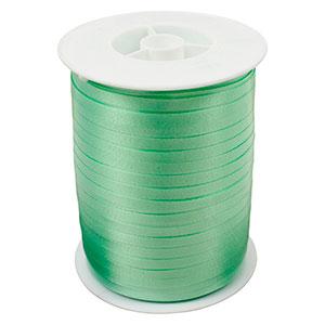 Bolduc ruban standard satiné, étroite Vert menthe  5 mm x 500 m