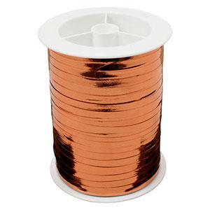 Wstążka - shiny wąska Kolor miedziany  5 mm x 250 m