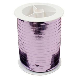 Wstążka - shiny wąska Kolor jasno fioletowy  5 mm x 250 m