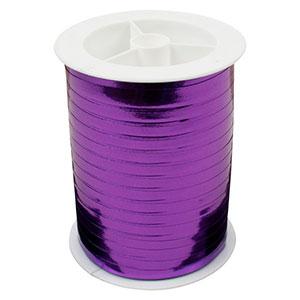 Wstążka - shiny wąska Kolor fioletowy  5 mm x 250 m