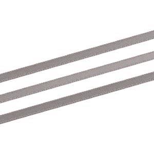 Satinband, extra smalt Mörkgrå  3 mm x 91,4 m