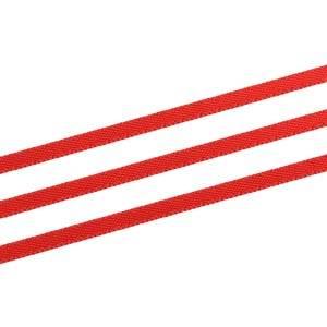 Satinbånd, ekstra smalt Rød  3 mm x 91,4 m