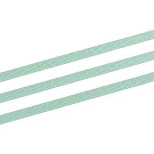 Ruban satin double face, très étroit Vert menthe  3 mm x 91,4 m