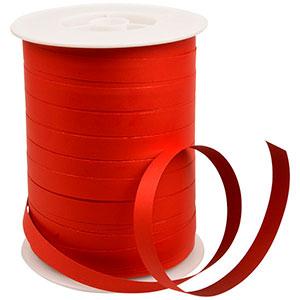 Dwustronna Wstążka, szeroka matowa Czerwono/bordowa  10 mm x 250 m