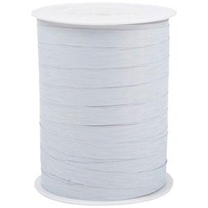 Wstążka  Shiny Deluxe, szeroka Kolor biały  10 mm x 250 m
