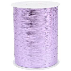 Wstążka  Shiny Deluxe, szeroka Kolor jasno fioletowy  10 mm x 250 m