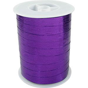 Wstążka Shiny Deluxe, szeroka Kolor fioletowy  10 mm x 250 m
