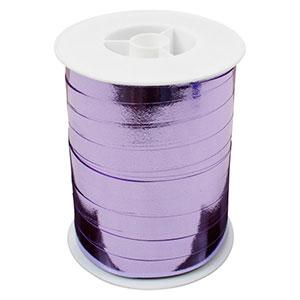 Wstążka shiny - szeroka Kolor fioletowy  10 mm x 250 m