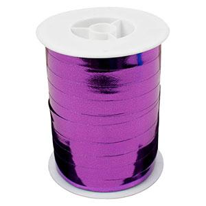 Wstążka shiny- szeroka Kolor fioletowy  10 mm x 250 m